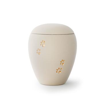 tierurne keramik weiss siena